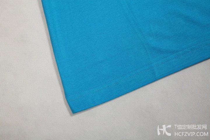莱赛尔棉文化衫-下摆细节